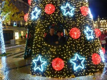noël,fête chrétienne,christian cottet-emard,lisbonne,portugal,sapin de noël,blog littéraire de christian cottet-emard,avent à lisbonne