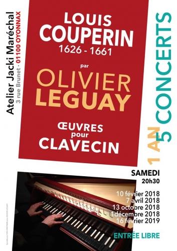 olivier leguay claveciniste,couperin,atelier jacki maréchal,musique,concert,blog littéraire de christian cottet-emard