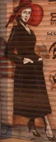 prisonnier du roman,littérature,roman,blog littéraire de christian cottet-emard,fiction,barcelone,espagne,voyage,portrait,chantier romanesque,histoire,intrigue,rêverie,christian cottet-emard,femme au chapeau rouge,peinture,art de rue,carnet,note,journal,écriture,chapeau rouge