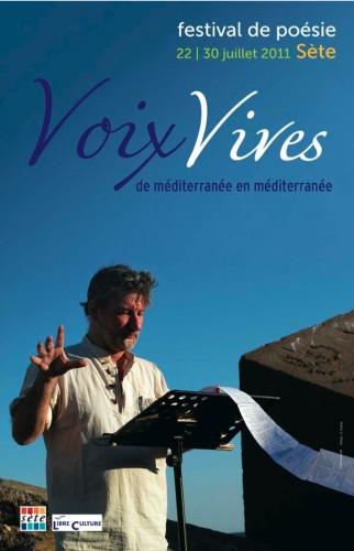 poésie,festival voix vives,de méditerranée en méditerranée,christian cottet-emard,salah stétié,sète