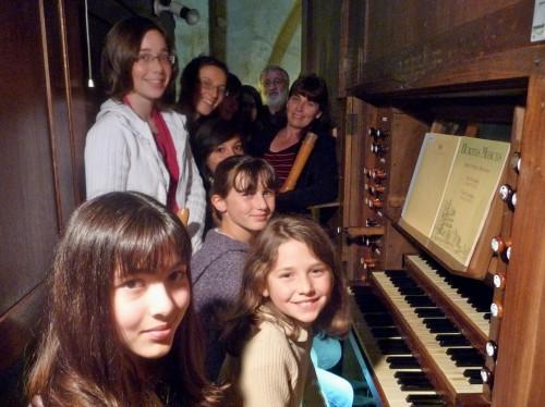 orgue, flûte à bec, trompette, olivier leguay, véronique rougier, elisabeth kwiatowski, nantua, ain, rhône-alpes, cluny, fête de la musique 2011, crd d'oyonnax, lété, paroisse saint michel de nantua, js bach, telemann, haendel, boyvin, krebs, schickhardt, alain