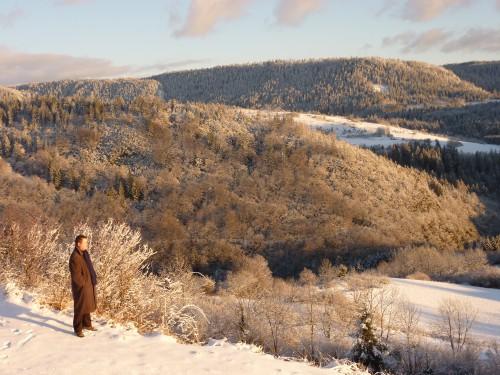 neige,hiver,promenade,jura,photo,christian claude louis cottet-emard