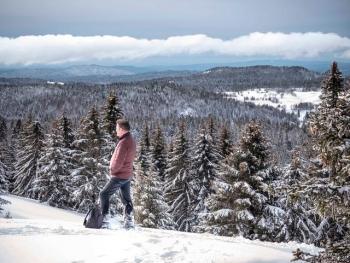 jura,nerbier,la pesse,raquettes,promenade,hiver,neige,haut jura,carnet,photo,forêt,blog littéraire de christian cottet-emard