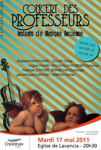 musique ancienne,lavancia,concert,crd oyonnax,église en bois