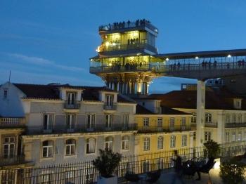 avent,lisbonne,blog littéraire de christian cottet-emard,portugal,voyage,ascenseur santa justa,elevador do carmo