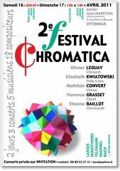 festival, chromatica, oyonnax, ain, rhône-alpes, jacki maréchal, florence grasset, etienne baillot, mathilde convert, elisabeth kwiatowski, olivier leguay